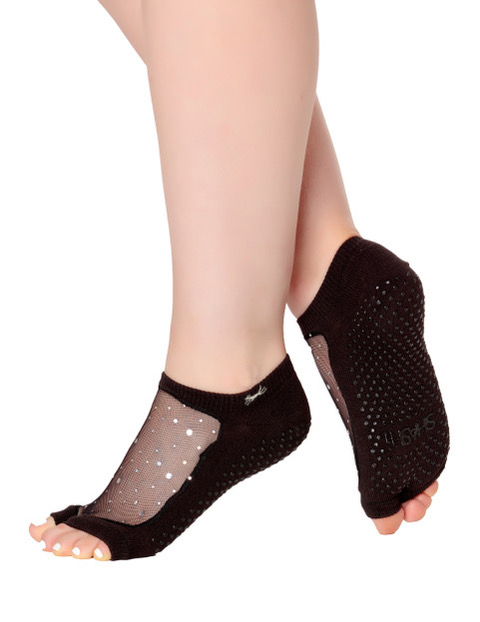 Open Toe Star Black