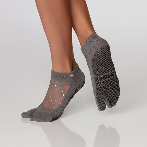 Star split toe charcoal